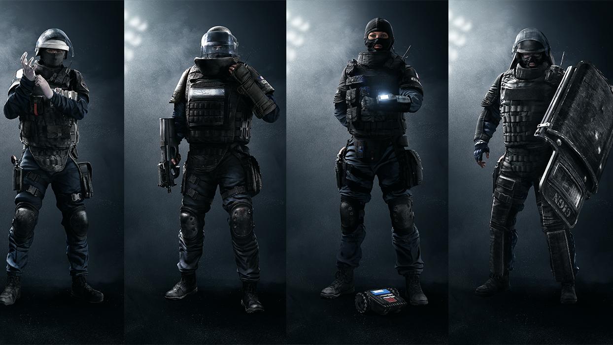 Rainbow Six Siege Gign Operators
